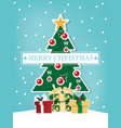 christmas holiday season background vector image vector image