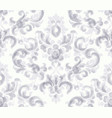 classic elegant ornament pattern watercolor vector image vector image