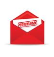 download red envelope vector image vector image