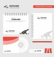 guns logo calendar template cd cover diary and vector image vector image