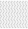 heart pattern seamless vector image