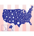 Map of the united states of america vector | Price: 1 Credit (USD $1)