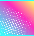 pop art background of a color rainbow and vector image