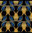 vintage floral seamless pattern ornamental vector image vector image