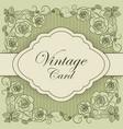 vintage paper frame vector image