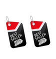 price tag best seller 25 50 image vector image
