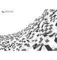abstract gray color square pattern of mesh cover vector image vector image