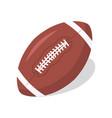american football ball icon ruglogo design vector image