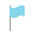 bavarian flag oktoberfest symbol vector image