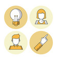 business and entrepreneurship vector image