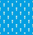 cream tube pattern seamless blue vector image vector image