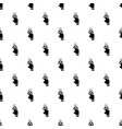 finger touch cursor pattern seamless vector image