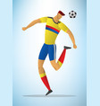 football player 31 vector image vector image