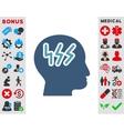 Headache Icon vector image