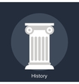 history vector image vector image