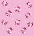 imprimir candy pattern background vector image