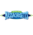 Massachusetts The Bay State vector image vector image
