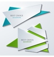 moder banners element design vector image vector image