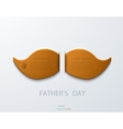 modern fathers day background vector image vector image