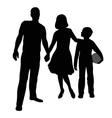 parents and son vector image