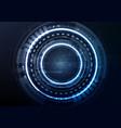 technological interface access encryption vector image vector image