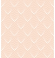White Line leaves seamless pattern on pink vector image vector image