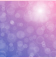 bokeh texture on a bright purple background vector image vector image