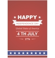 Bright to the Independence Day vector image vector image