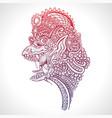 mythology creature garuda vector image vector image