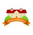 Real Estate Emblem vector image vector image