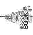 are you a bookworm text word cloud concept vector image vector image