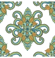 Beautiful seamless Indian floral ornament can be vector image vector image