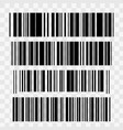realistic barcode icon isolated vector image