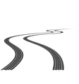 Tire Track vector image