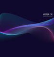 abstract background colored dynamic waves vector image vector image