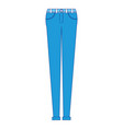 female pants clothes icon vector image