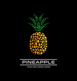 pine apple logo vector image