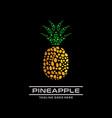 pine apple logo vector image