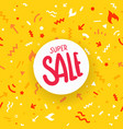 super sale vivid abstract seamless background vector image vector image