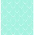 White Line leaves seamless pattern on blue vector image