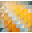Abstract triangles geometry background vector image