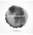 Abstract Dark Grunge Watercolor Background vector image