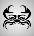 Crab Tribal vector image vector image