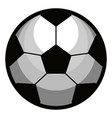 isolated sport ball icon vector image vector image