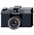 Isometric 3d retro photo camera vector image
