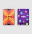 modern design covers set vector image