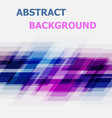 abstract blue and pink geometric overlapping vector image vector image