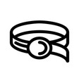 belt icon or logo isolated sign symbol
