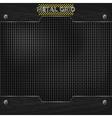 metal mesh texture vector image vector image