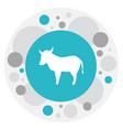 of zoo symbol on kine icon vector image vector image